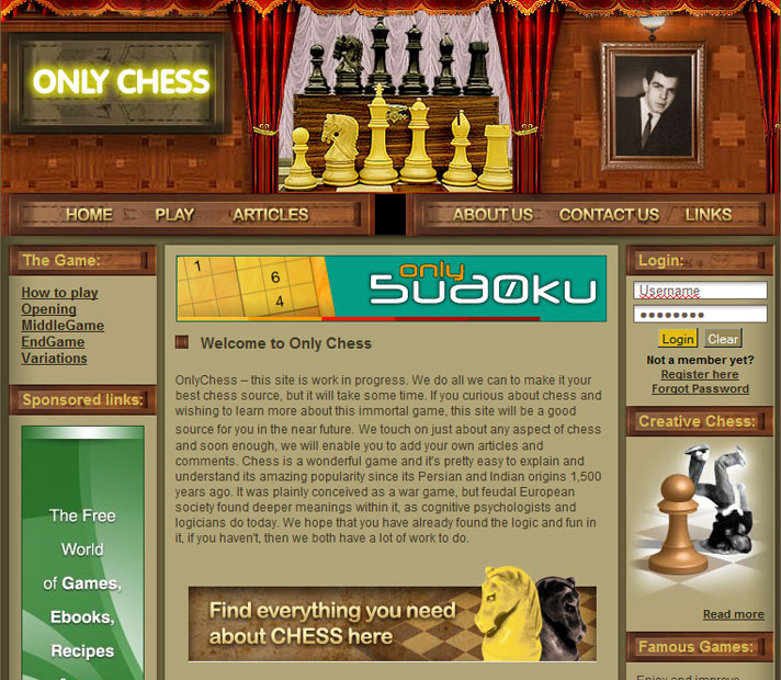 OnlyChess screen1