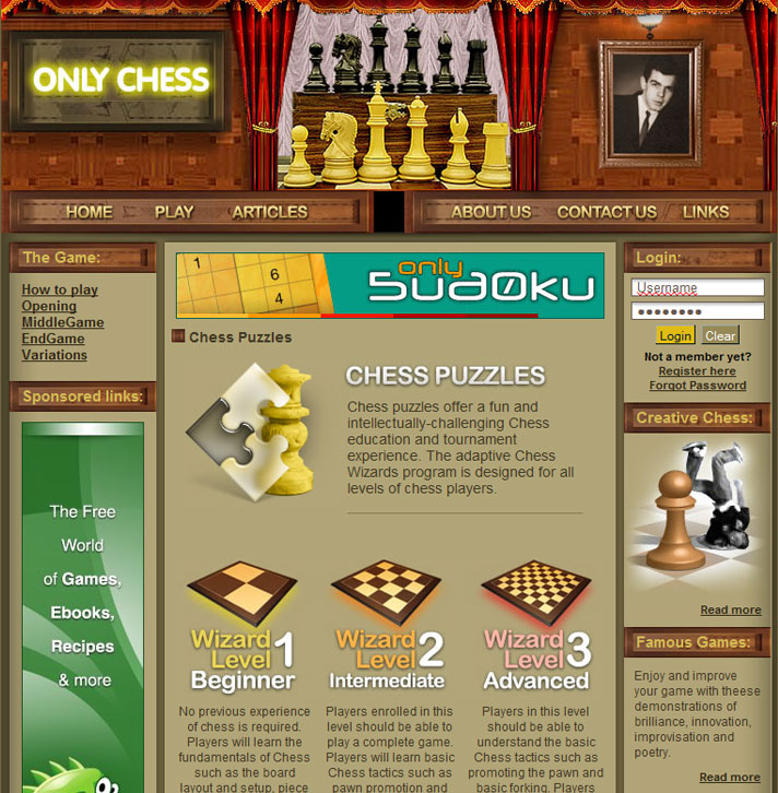 OnlyChess screen2
