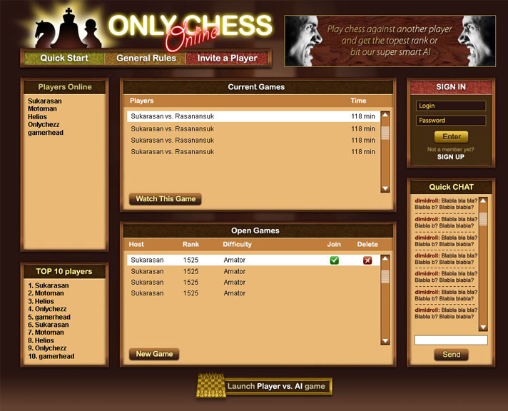 OnlyChess screen3